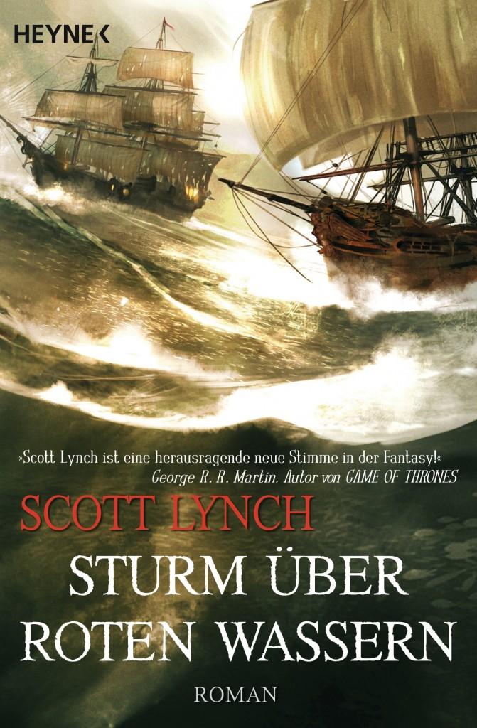 Sturm ueber roten Wassern von Scott Lynch